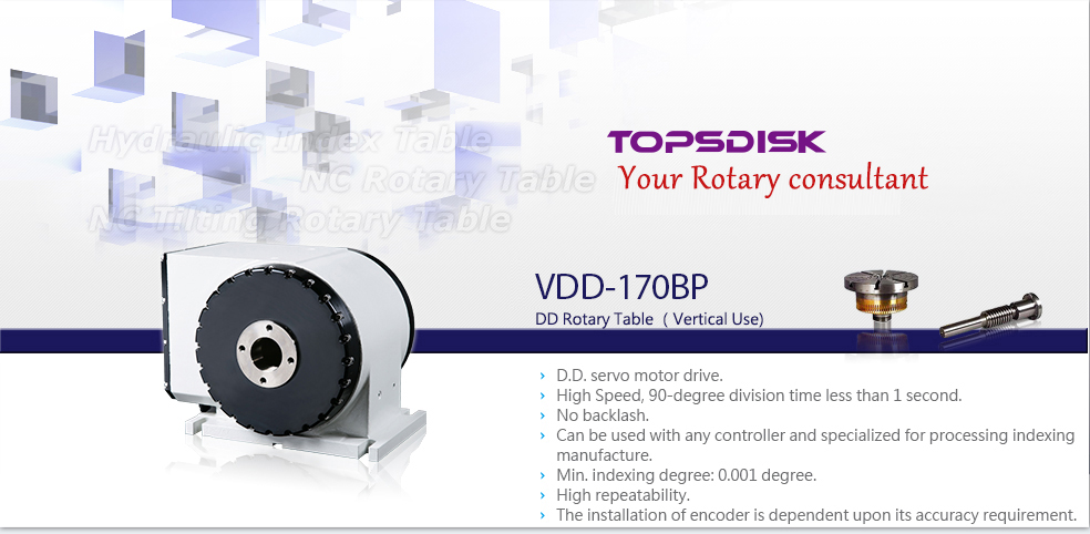 VDD-170BP DD Rotary Table