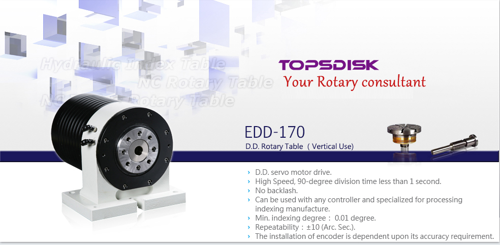 EDD-170 D.D.Rotary Table
