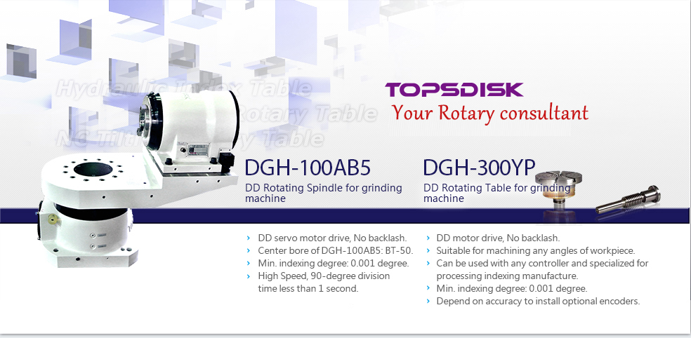 DGH-100AB5 / DGH-300YP DD Rotating Spindle for grinding machine