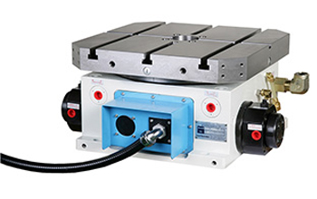 CH3-400S Horizontal Series (Square Faceplate) Hydraulic / Pneumatic Index Table