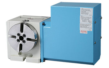 TDE-125P Standard Series NC Rotary Table (0.001° )